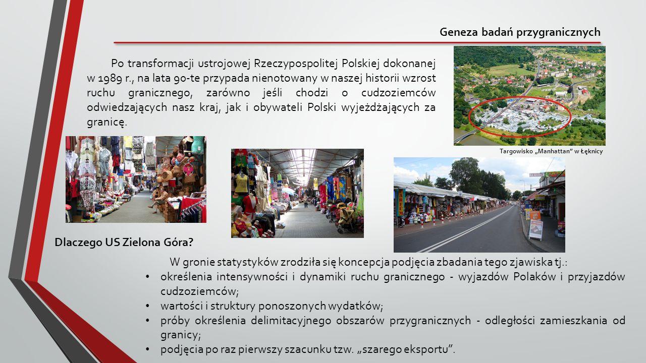 Geneza badań przygranicznych Po transformacji ustrojowej Rzeczypospolitej Polskiej dokonanej w 1989 r., na lata 90-te przypada nienotowany w naszej hi