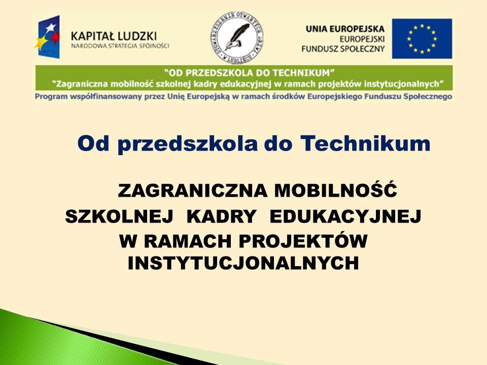 Instytucja wysyłająca - Stowarzyszenie Otwartych Drzwi w Lublińcu Instytucja przyjmująca - Donnerska skolan w Kokkola