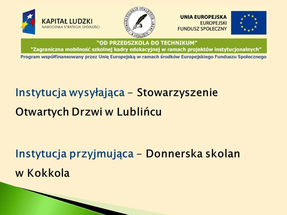 Dyskusja z dyrektorem Donnerska skolan i nauczycielami nt.