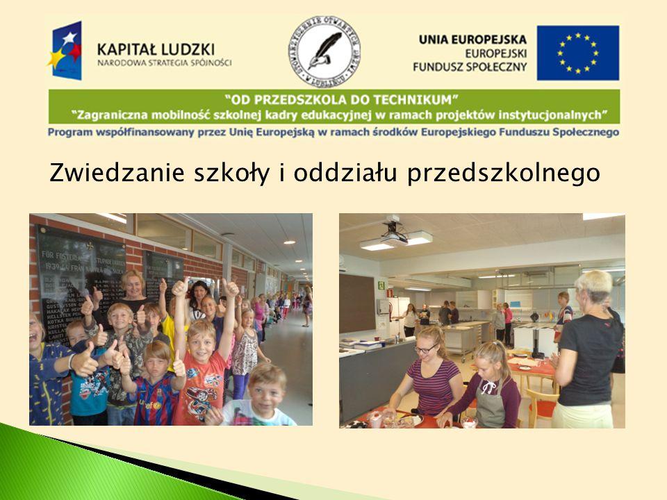 Zwiedzanie szkoły i oddziału przedszkolnego
