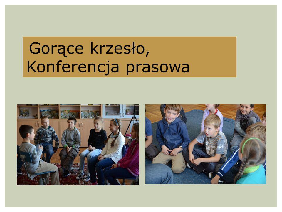 Gorące krzesło, Konferencja prasowa