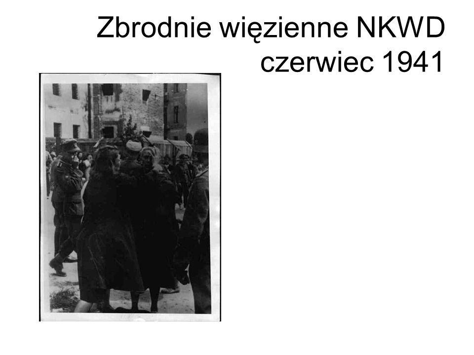 Zbrodnie więzienne NKWD czerwiec 1941
