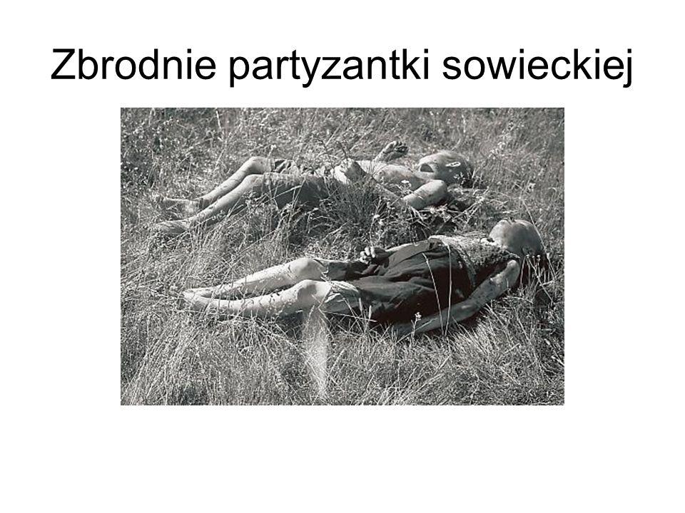 Zbrodnie partyzantki sowieckiej