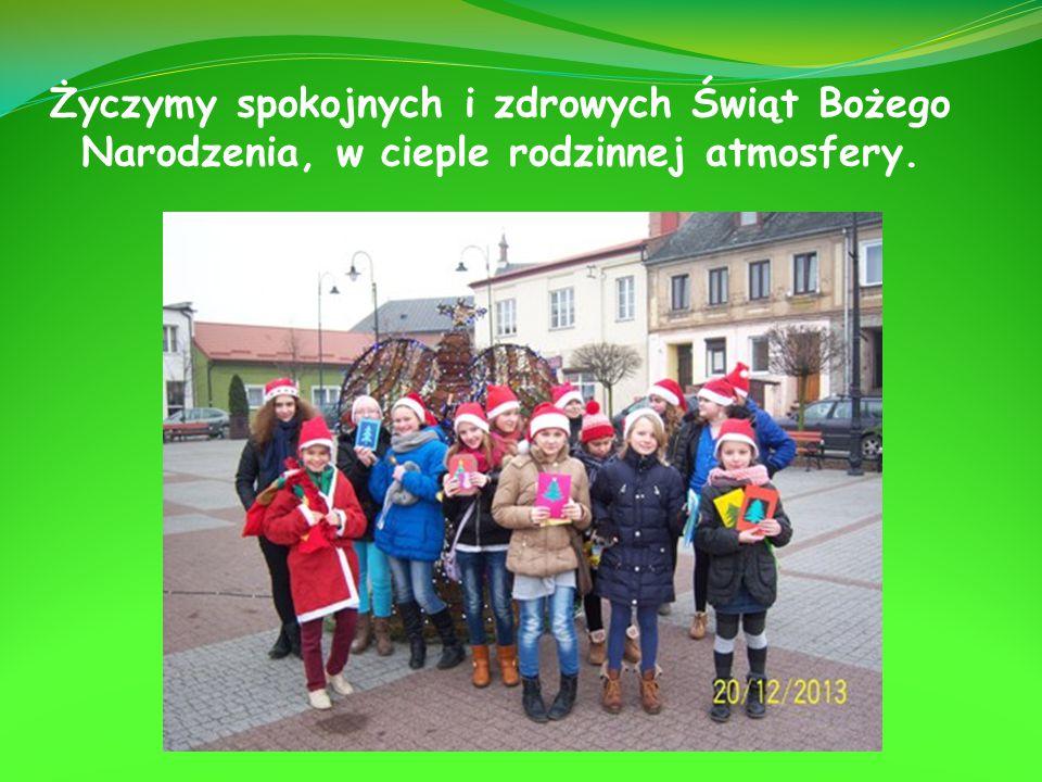 Życzymy spokojnych i zdrowych Świąt Bożego Narodzenia, w cieple rodzinnej atmosfery.
