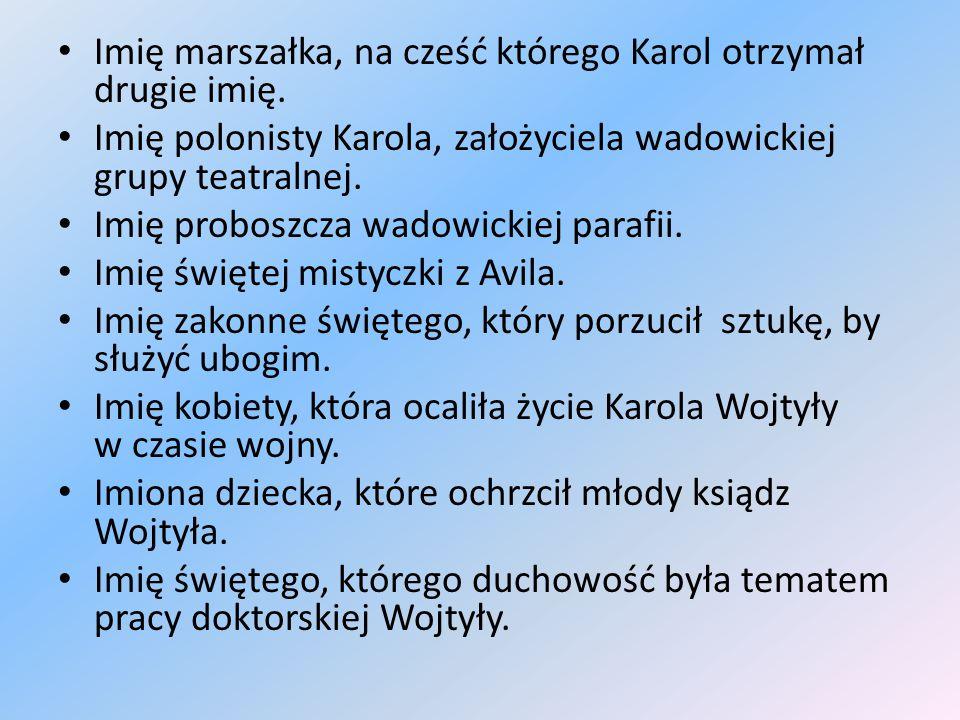 Kategoria II Nazwisko-1pkt