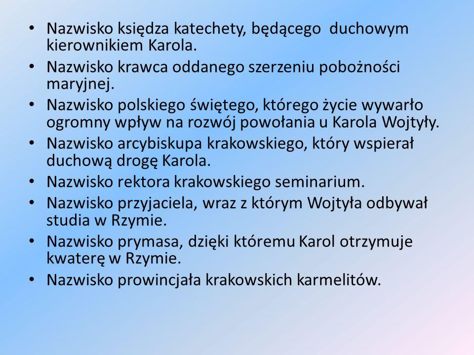 Kategoria VIII Patriotyzm -5 pkt