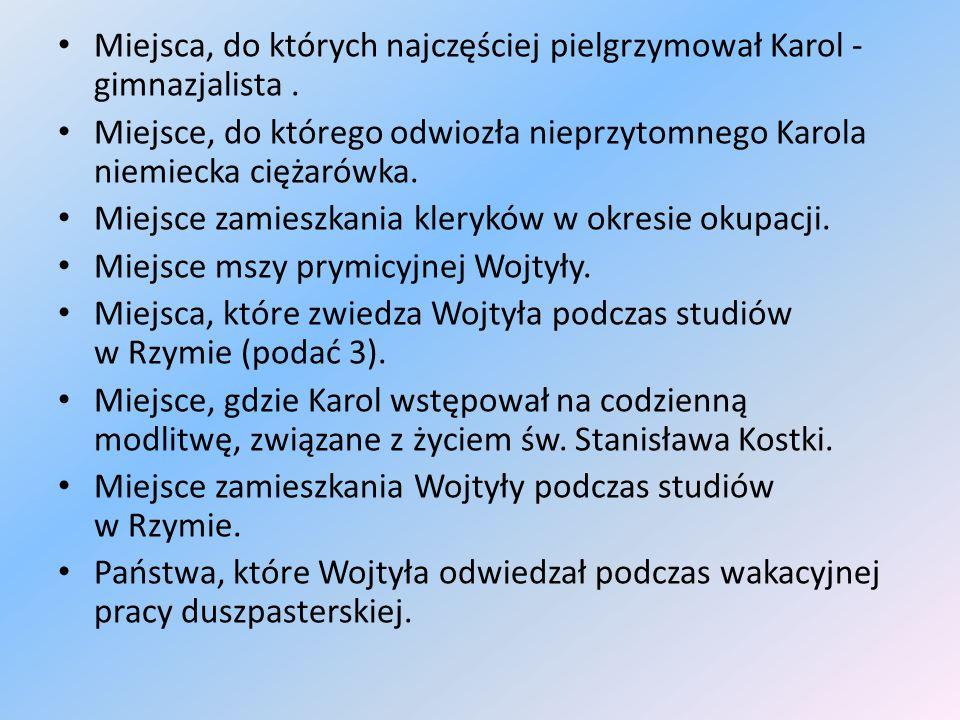 Kategoria IX WARTOŚCI - 3 pkt