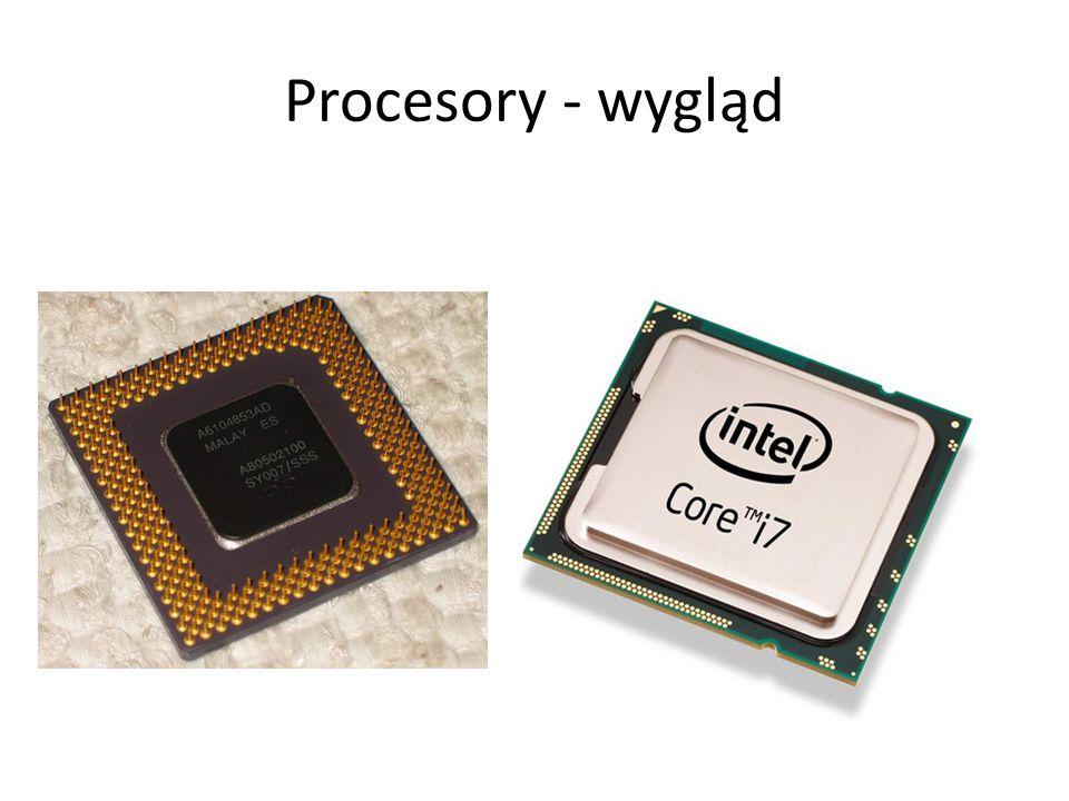 Procesory - wygląd