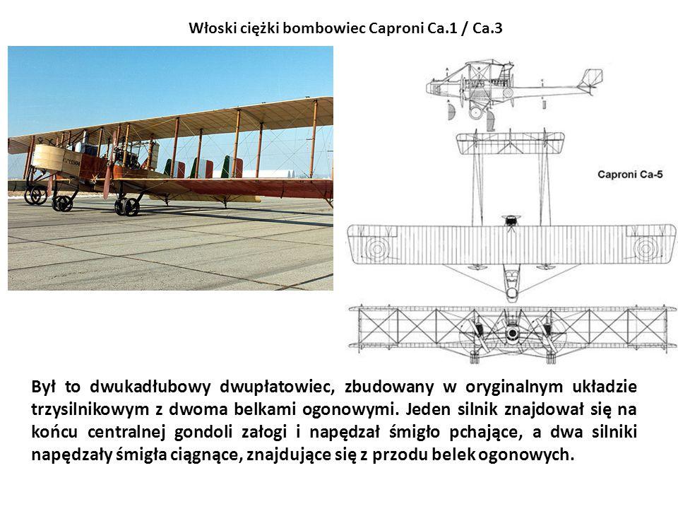 Był to dwukadłubowy dwupłatowiec, zbudowany w oryginalnym układzie trzysilnikowym z dwoma belkami ogonowymi. Jeden silnik znajdował się na końcu centr