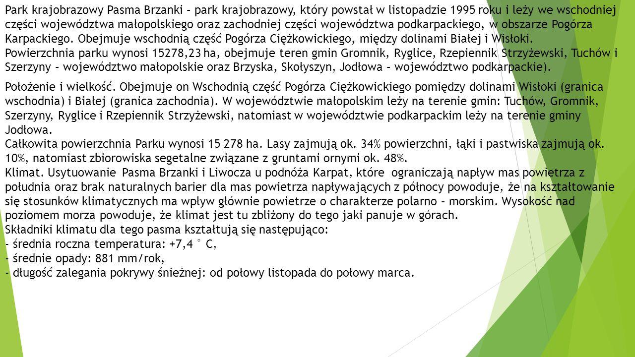 Park krajobrazowy Pasma Brzanki – park krajobrazowy, który powstał w listopadzie 1995 roku i leży we wschodniej części województwa małopolskiego oraz zachodniej części województwa podkarpackiego, w obszarze Pogórza Karpackiego.