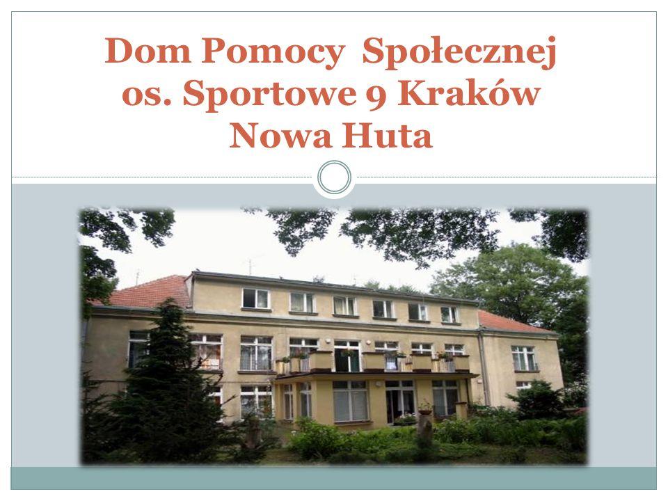 Statut Domu Pomocy Społecznej os.Szkolne 28 w Krakowie, Dział II, §3.
