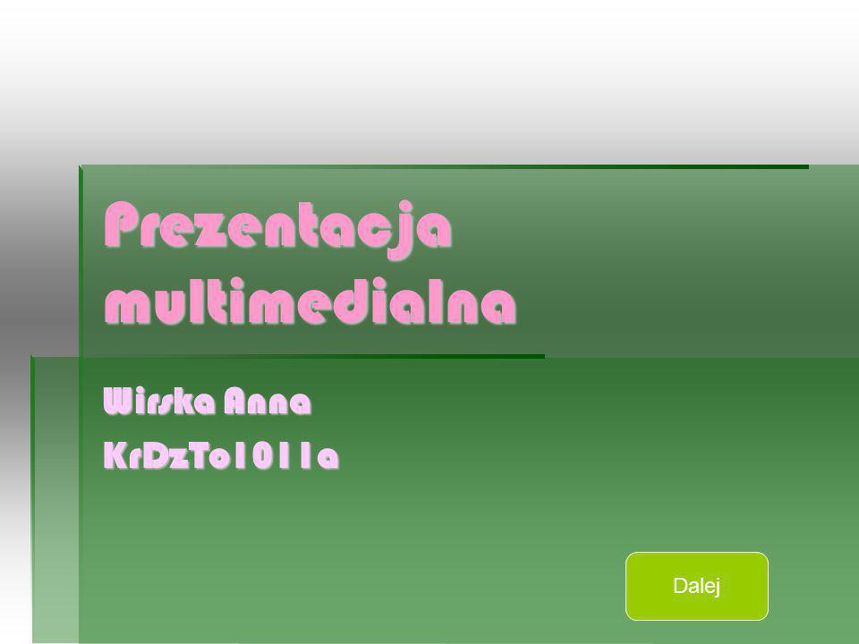Prezentacja multimedialna Wirska Anna KrDzTo1011a Dalej