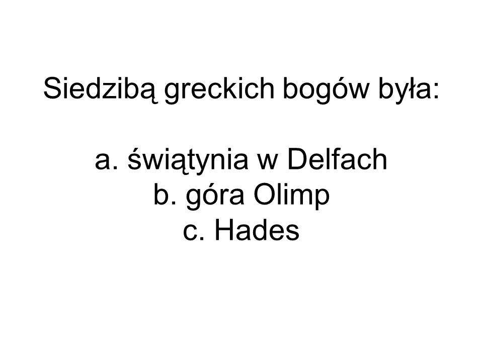 Hellada to określenie, którym Grecy nazywali: a.okres 4 lat pomiędzy olimpiadami b.