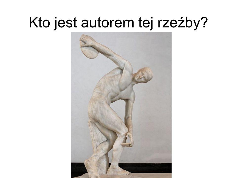 Kto jest autorem tej rzeźby?