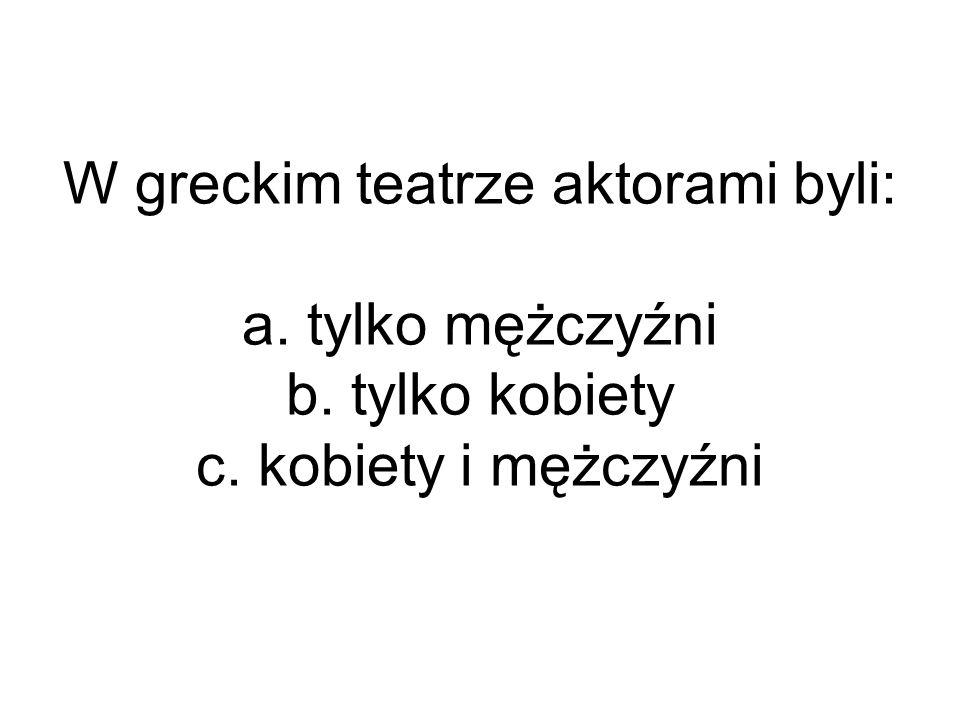 Najsłynniejszym greckim rzeźbiarzem był: a. Fidiasz b. Temistokles c. Perykles