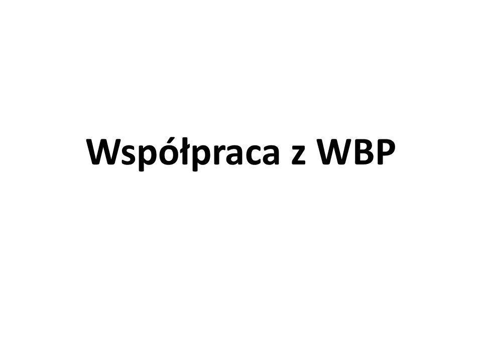 Współpraca z WBP