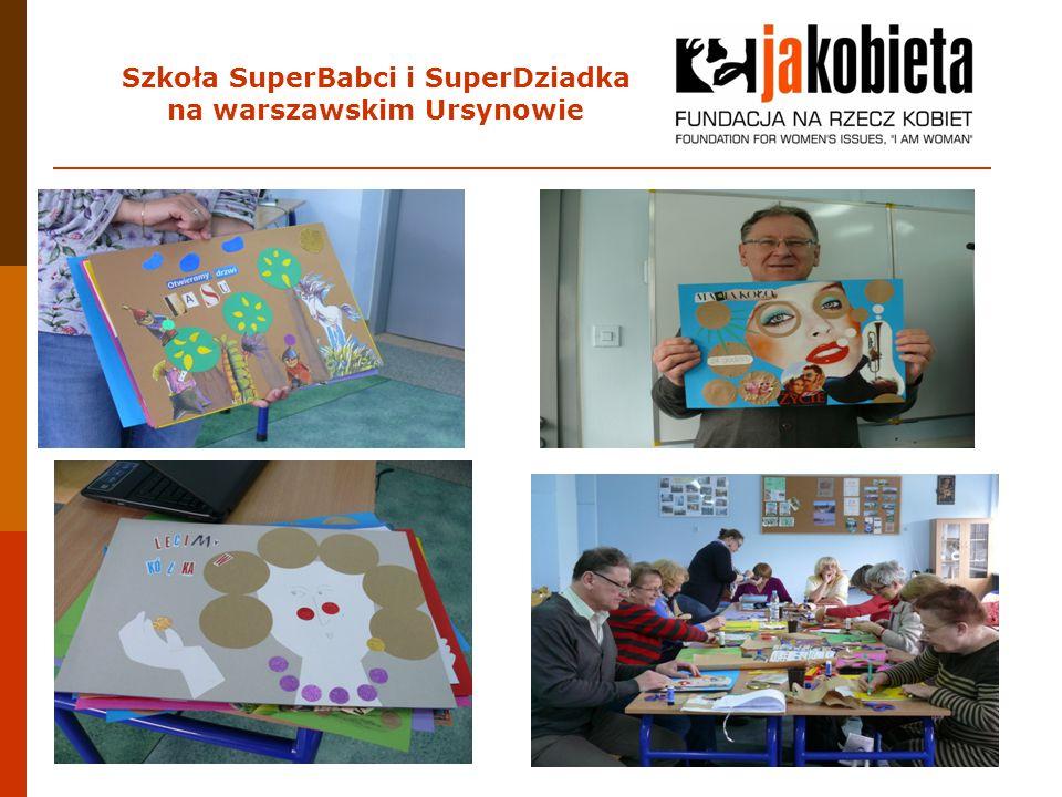 Szkoła SuperBabci i SuperDziadka na warszawskim Ursynowie