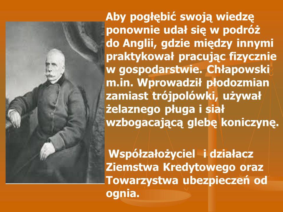 Hipolit Cegielski Filolog, przemysłowiec działacz społeczny, dziennikarz i polityk.