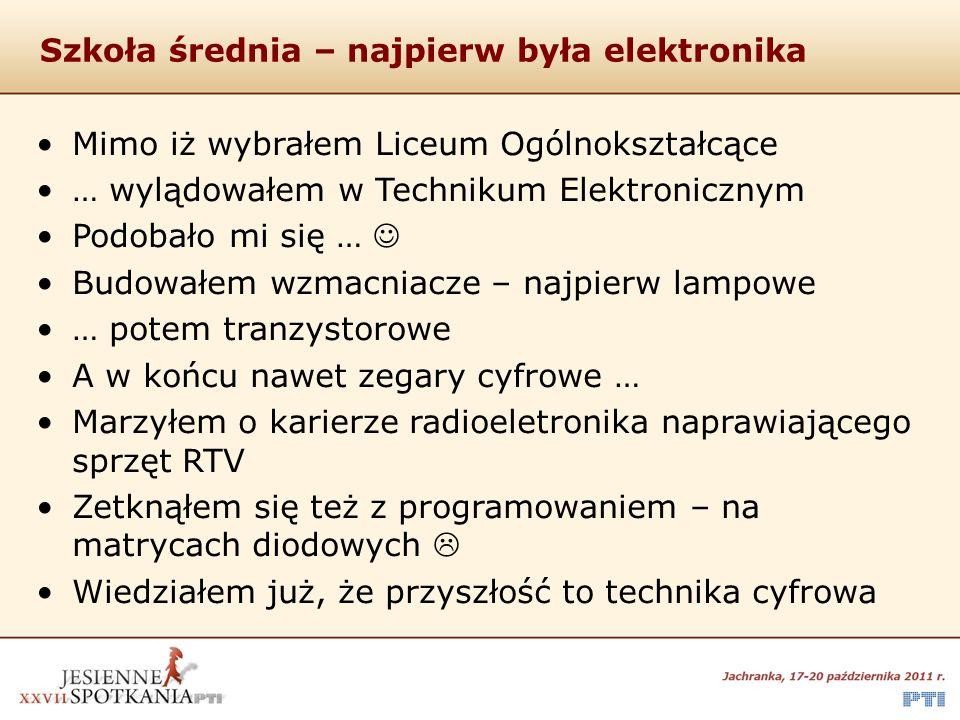 Studia – a jednak informatyka Politechnika Śląska Wydział Automatyki, Elektroniki i Informatyki Czy właściwie trafiłem.