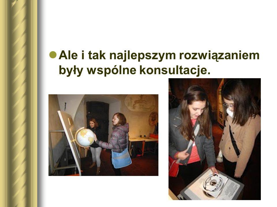Drugim etapem było uczestnictwo w warsztatach, w czasie których każdy mógł się zmierzyć z zadaniami stereometrii.