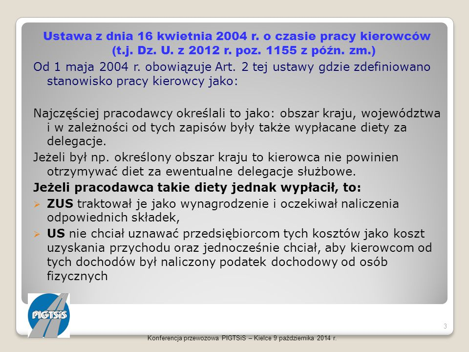 Konferencja przewozowa PIGTSiS – Kielce 9 października 2014 r. 44