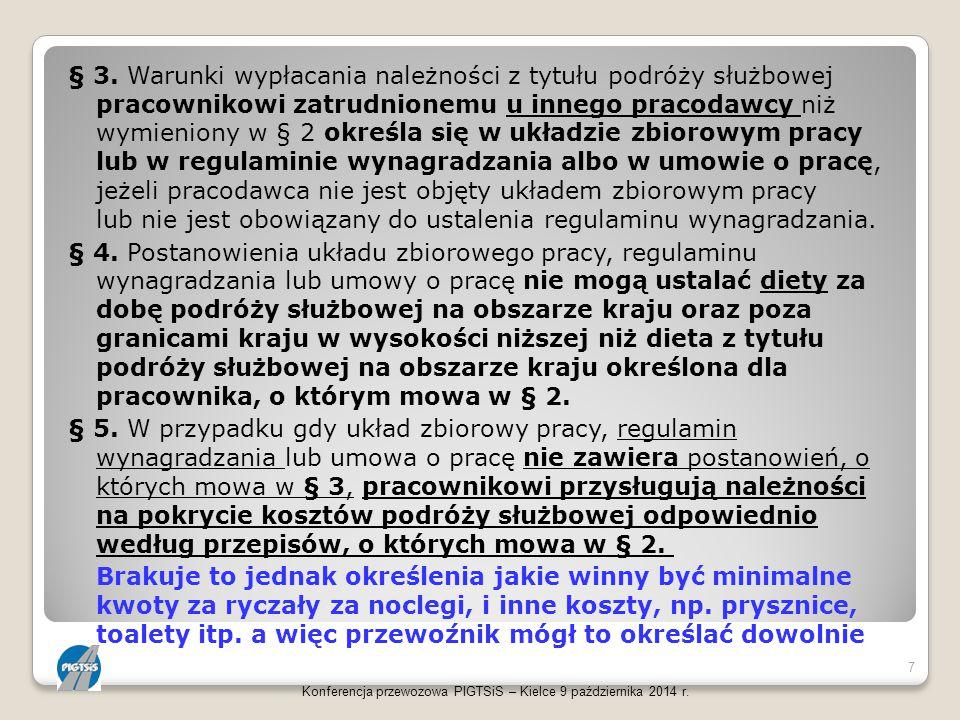 Konferencja przewozowa PIGTSiS – Kielce 9 października 2014 r. 38