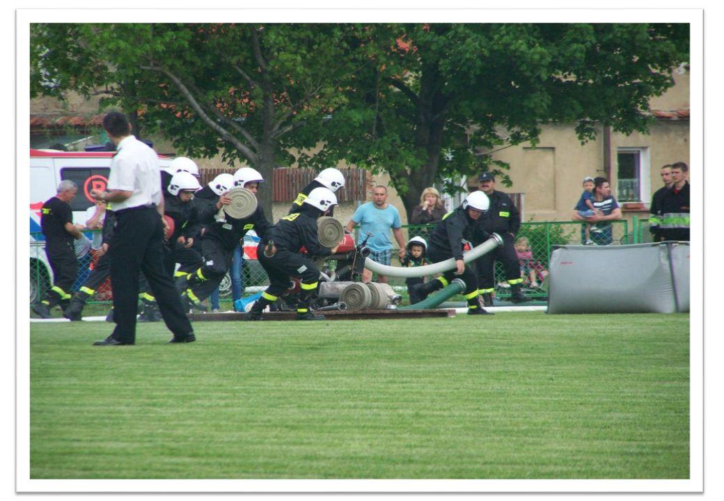 W zawodach wzięło udział 30 strażaków z Czech i 30 z Polski.