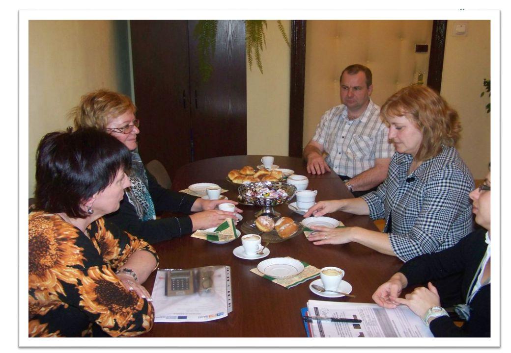 Niedługo po wizycie polskiej delegacji Wiceburmistrz Dobruški Blanka Čiháčková 17 marca 2011 r.