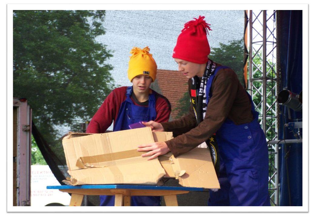 Okazja do wspólnej zabawy nadarzyła się już podczas XVI Dni Piławy Górnej, 12 czerwca 2011 r.