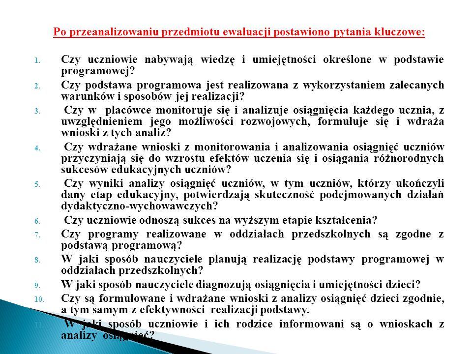 W Przedszkolu nr 243 w miesiącach wrzesień – maj 2013/ 2014 r.