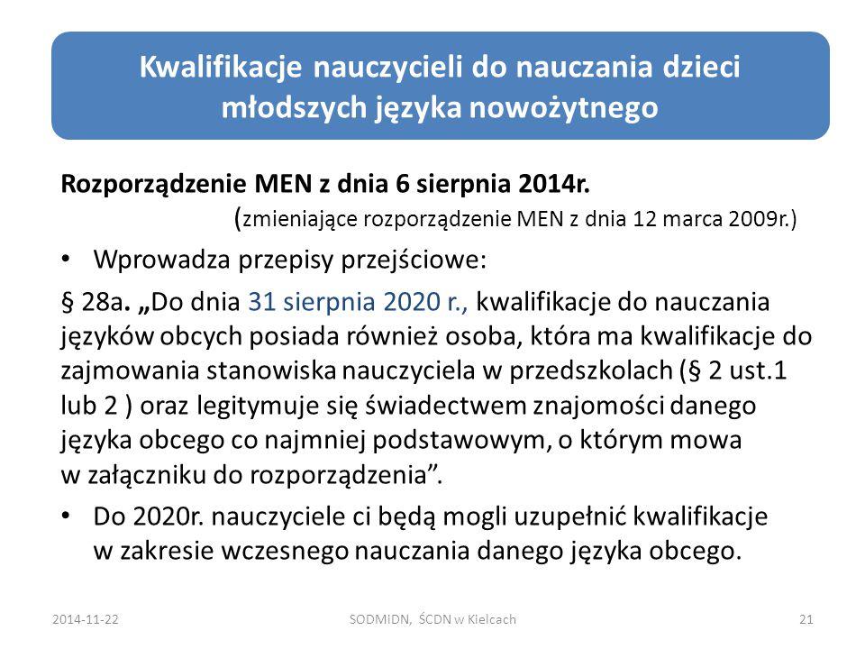 Cele edukacji zdrowotnej Rozporządzenie MEN z dnia 6 sierpnia 2014r. ( zmieniające rozporządzenie MEN z dnia 12 marca 2009r.) Wprowadza przepisy przej