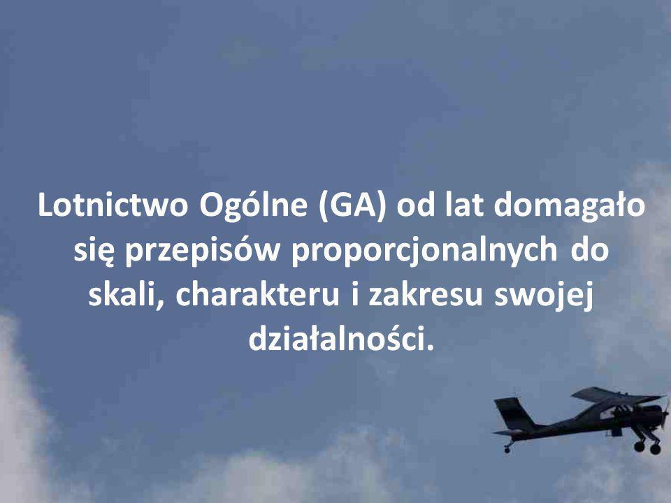 EASA zaczyna wdrażać nową strategię w stosunku do Lotnictwa Ogólnego - GA.