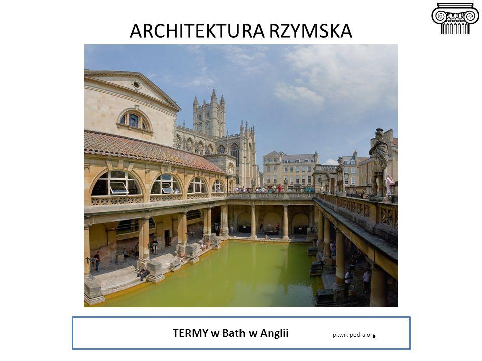 TERMY w Bath w Anglii pl.wikipedia.org