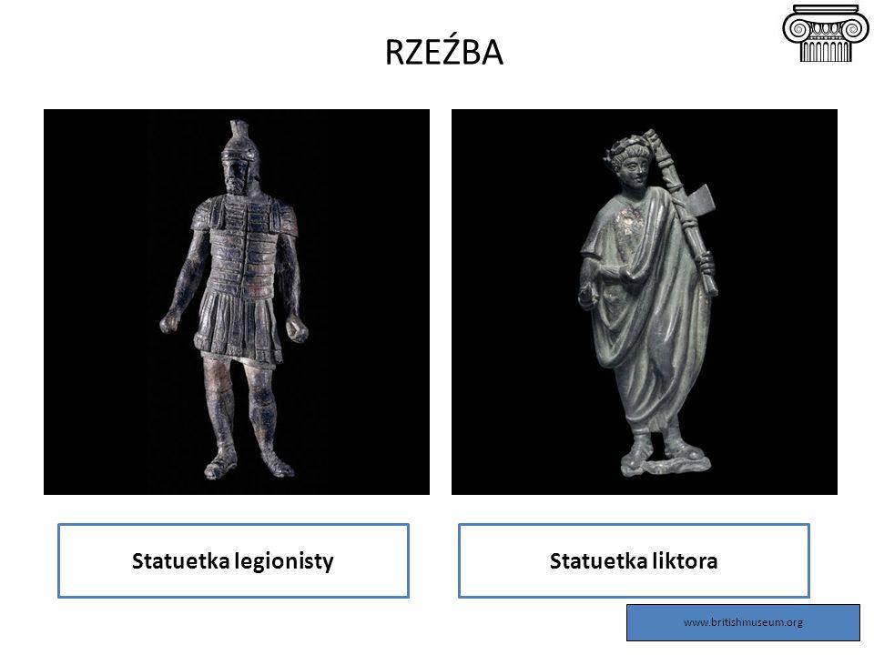 Statuetka legionistyStatuetka liktora RZEŹBA www.britishmuseum.org