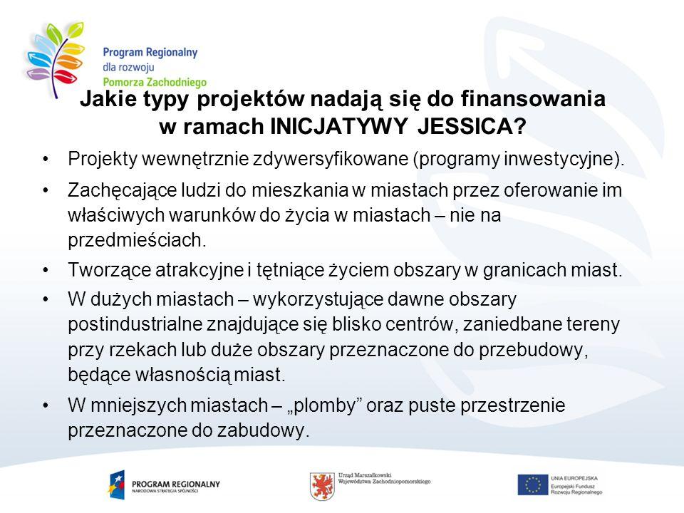 Projekty wewnętrznie zdywersyfikowane (programy inwestycyjne).