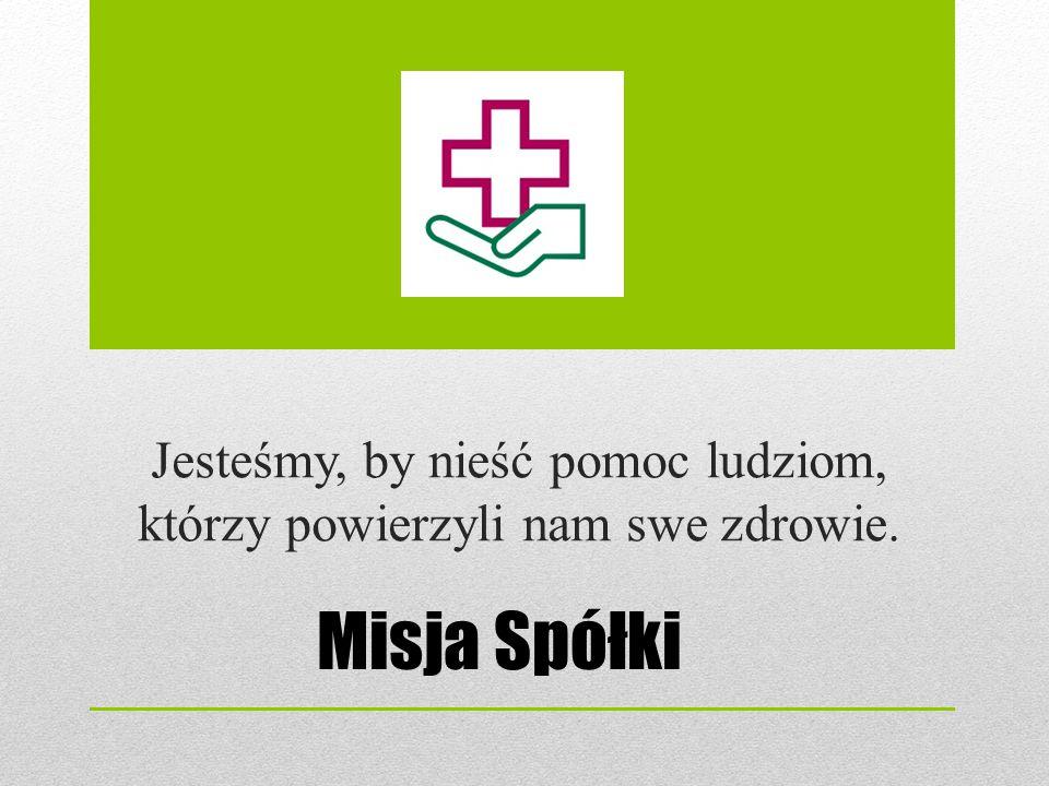 Wizja Szpitala – cel strategiczny Nowoczesny wielospecjalistyczny Szpital zapewniający w pełni bezpieczeństwo zdrowotne mieszkańcom północnej części województwa lubuskiego.