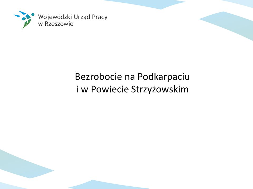 Stopa bezrobocia w województwie podkarpackim wg stanu na koniec marca 2014 r.