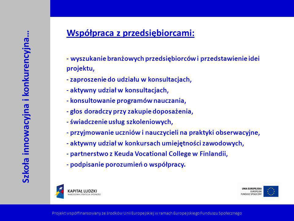 Konkurs umiejętności zawodowych Skąd pomysł.EUROPA - EuroSkills – pierwsza edycja 2008 r.