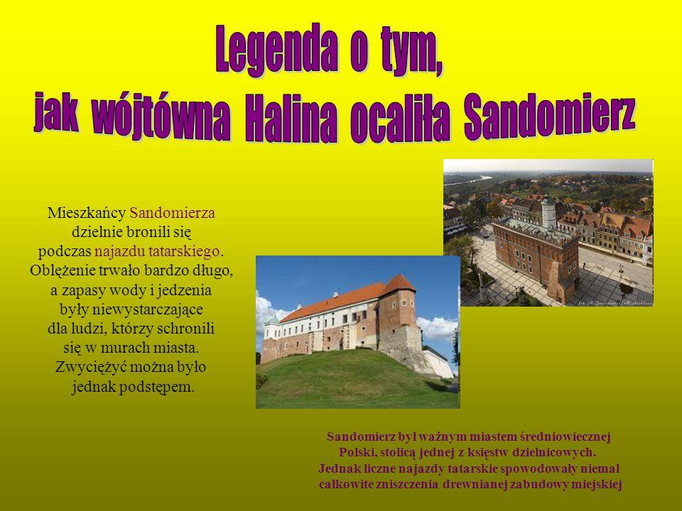 Mieszkańcy Sandomierza dzielnie bronili się podczas najazdu tatarskiego. Oblężenie trwało bardzo długo, a zapasy wody i jedzenia były niewystarczające