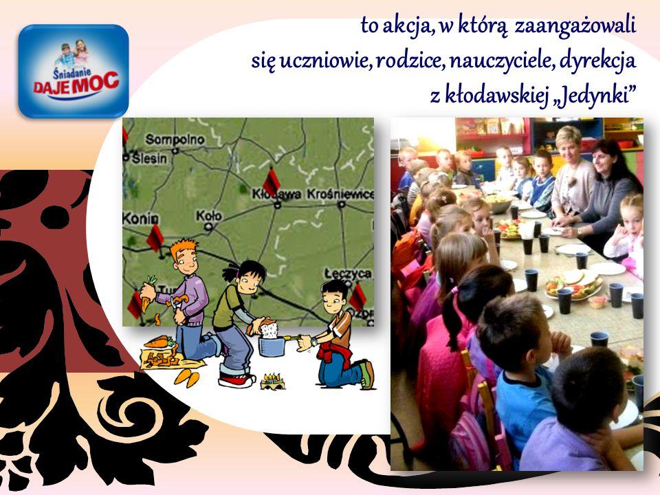 """z Zespołu Szkół nr 1 w Kłodawie Śniadanie dało moc dzieciom """"dużym i małym"""""""