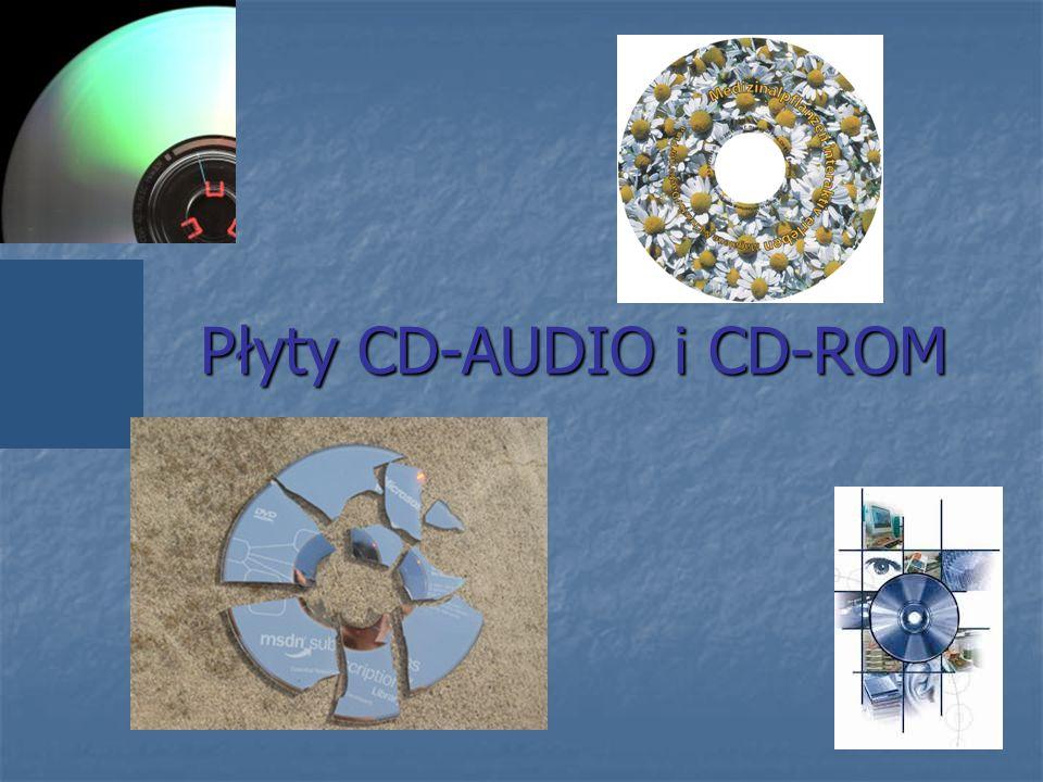 Płyty CD-AUDIO i CD-ROM