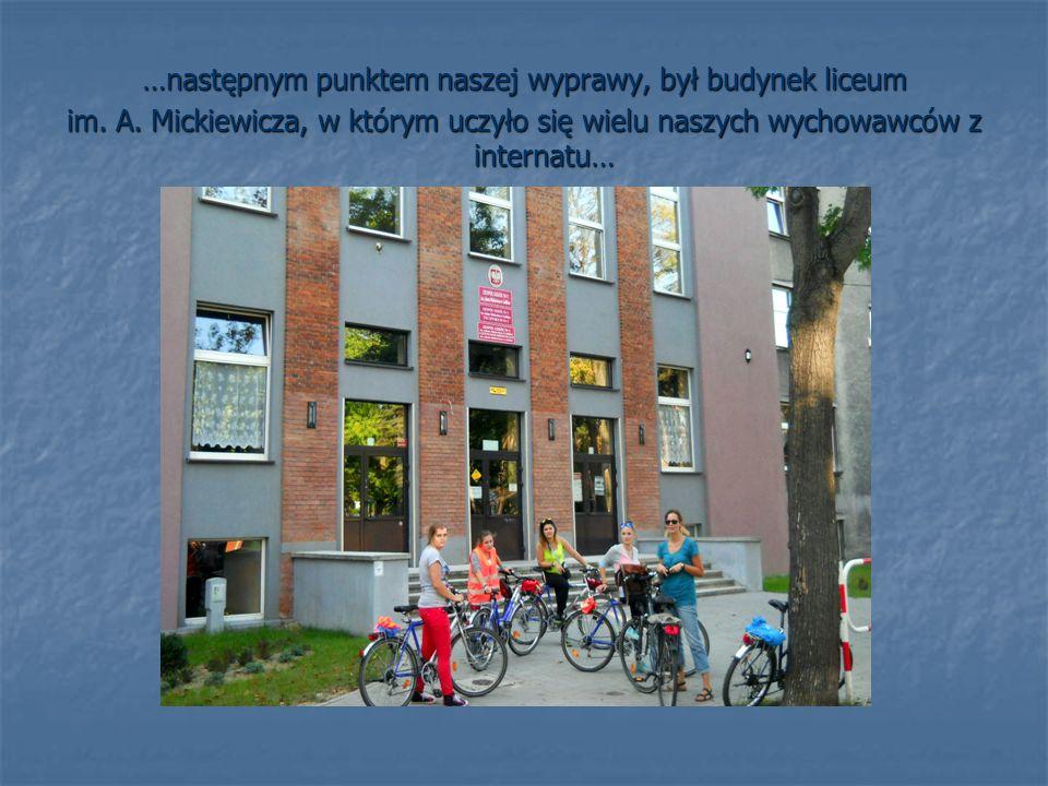 …jadąc dalej ulicą Grunwaldzką mogłyśmy podziwiać piękne, stare domy, które zrobiły na nas ogromne wrażenie…