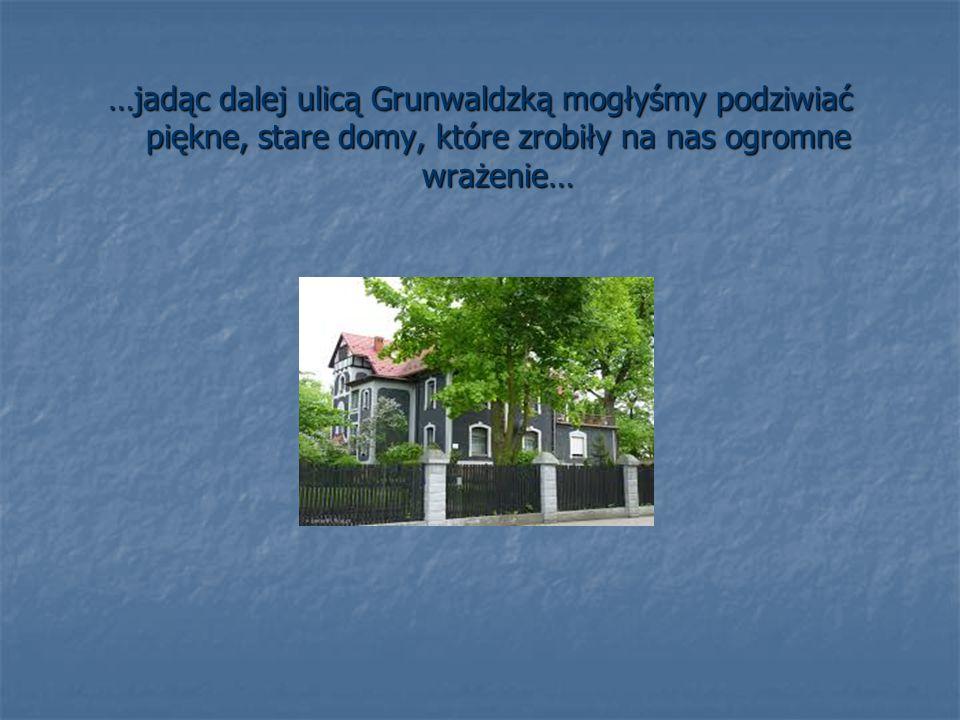 …równie interesującym miejscem na tej ulicy okazał się Zamek Lubliniecki, o istnieniu którego, niektóre dziewczyny nie miały pojęcia;-)… a w którym znajduje się hotel, restauracja i spa…