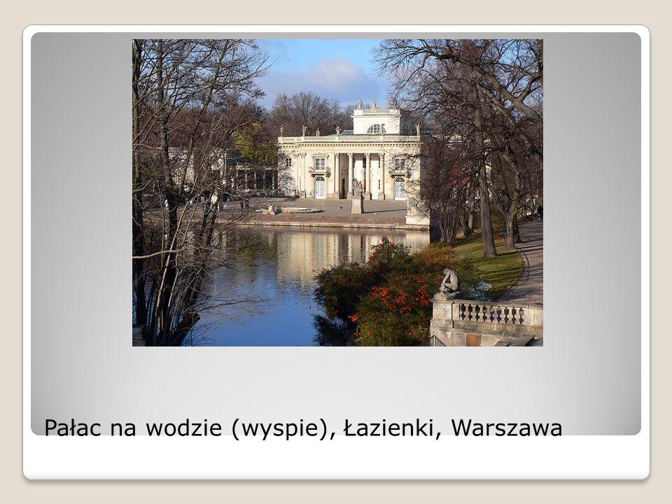 Pałac na wodzie (wyspie), Łazienki, Warszawa