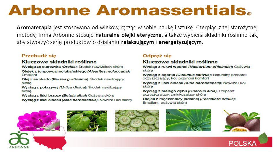 Aromaterapia jest stosowana od wieków, łącząc w sobie naukę i sztukę. Czerpiąc z tej starożytnej metody, firma Arbonne stosuje naturalne olejki eteryc