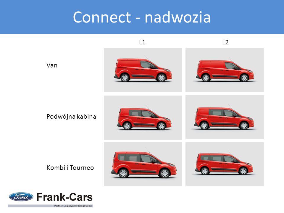 L1 L2 Van Podwójna kabina Kombi i Tourneo Connect - nadwozia