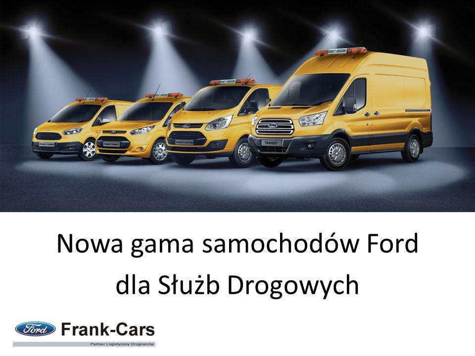 Nowa gama samochodów Ford dla Służb Drogowych