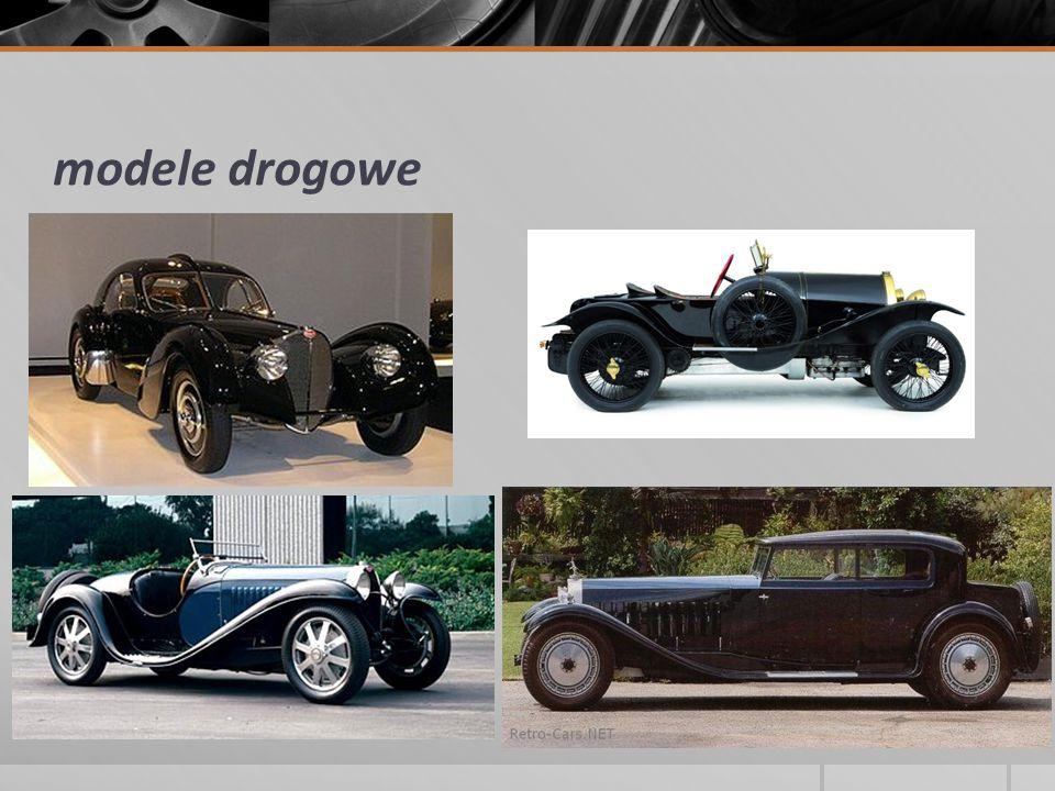 modele drogowe