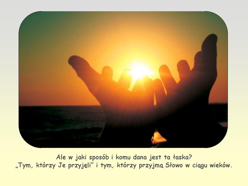 Oto wielka nowina którą Jezus ogłosił i podarował ludzkości: jesteśmy dziećmi Bożymi, stajemy się nimi przez łaskę.