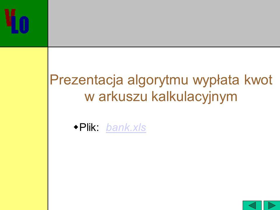 Szyfrowanie tekstu - Szyfr Cezara  Opis algorytmu:  Wprowadzić tekst stawiając na końcu znak #, który do tekstu nie należy.